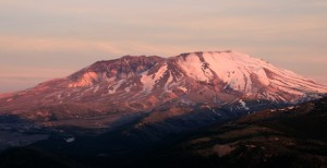 Mount St. Helens Stratovolcano