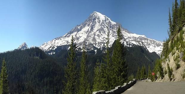 Mount Rainier Volcano