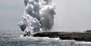 Marine volcano