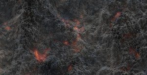 Volcanic fragments