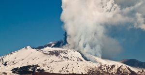 Magma eruption