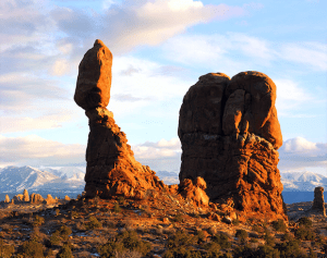 Balanced Rock in Arches national park