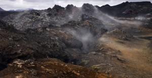 Volcanic fissure