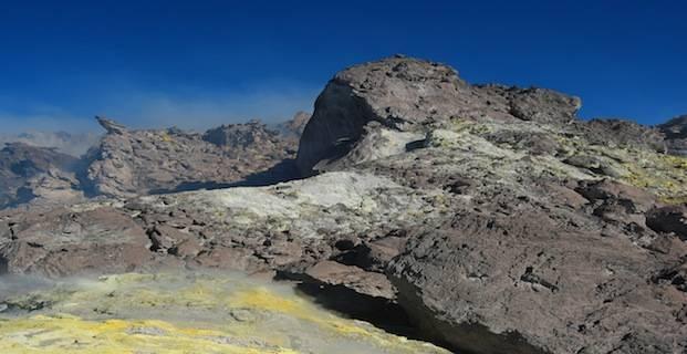 Lava Dome Volcano