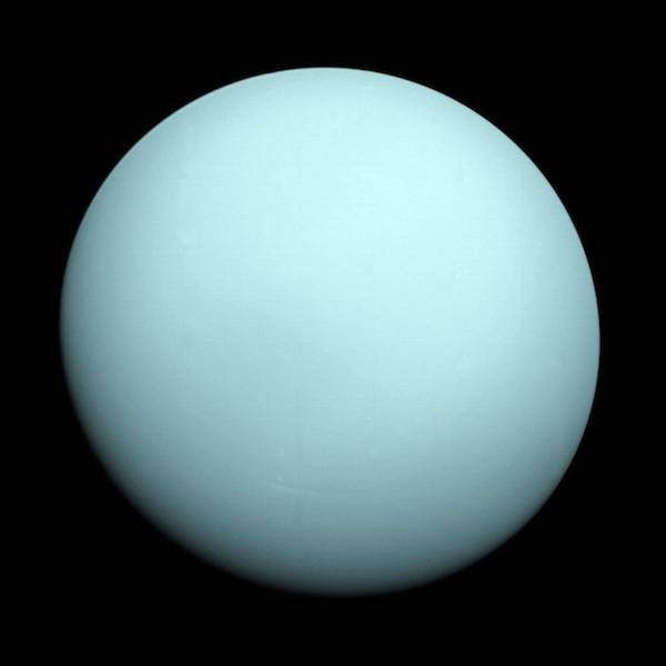 Uranus, the seventh planet