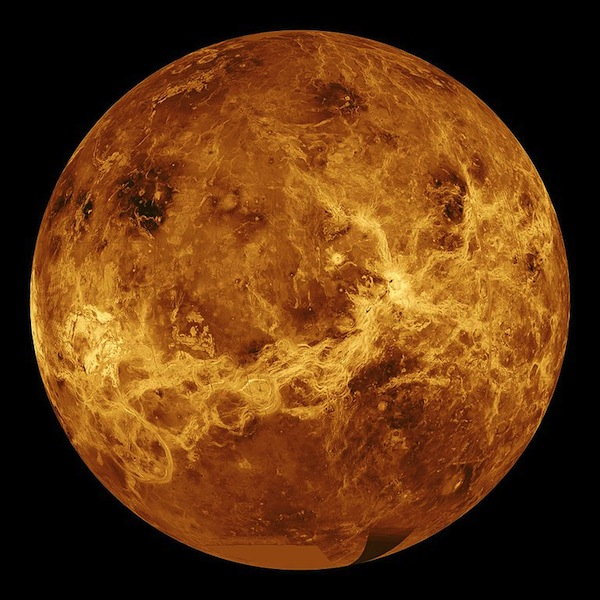 Venus, the second planet