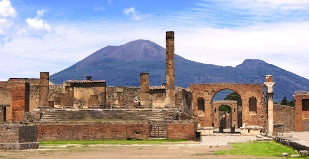 Mount Vesuvius picture