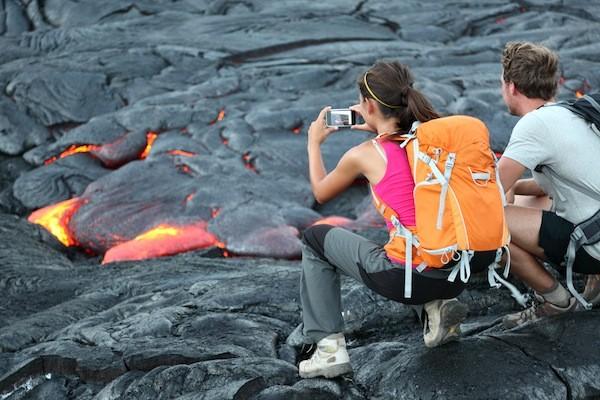 Hawaii volcanoes National park facts
