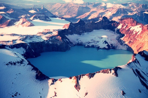 Katmai National Park and Preserve located in Alaska