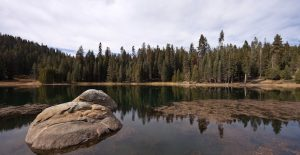 Lake in Sequoia and Kings Canyon National Park.