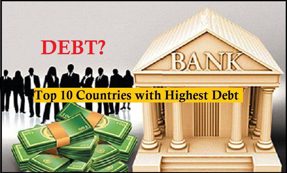 Top 10 Countries with Highest Debt Rate in the World