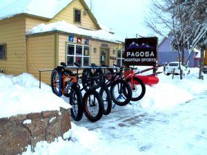 fat biking in pagosa springs