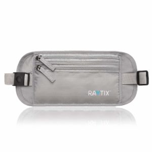Travel Money Belt: Safe Blocks RFID Transmissions – Secure, Hidden Travel Wallet