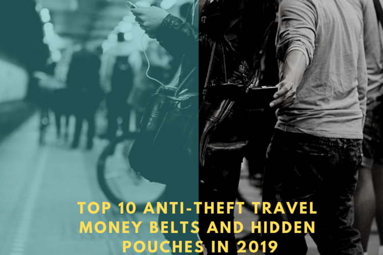 Anti-Theft Travel Hidden Pouches and Money Belts