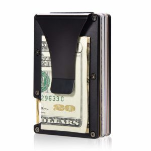 Aluminium Travel RFID Blocking Wallet