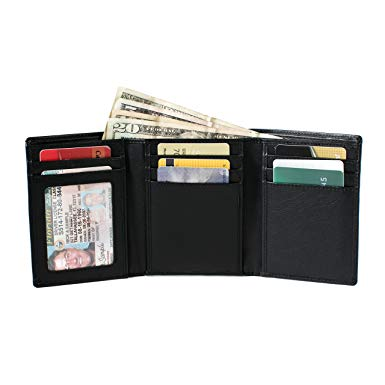 Men Travel Wallet RFID Blocking
