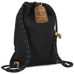 LOCTOTE Flak Sack II - The World's Toughest Theft-Resistant Drawstring Backpack